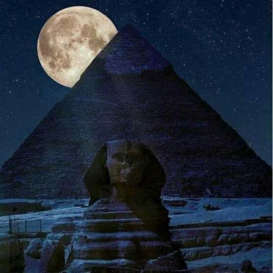Supermoon Novmber 2016 Egypt