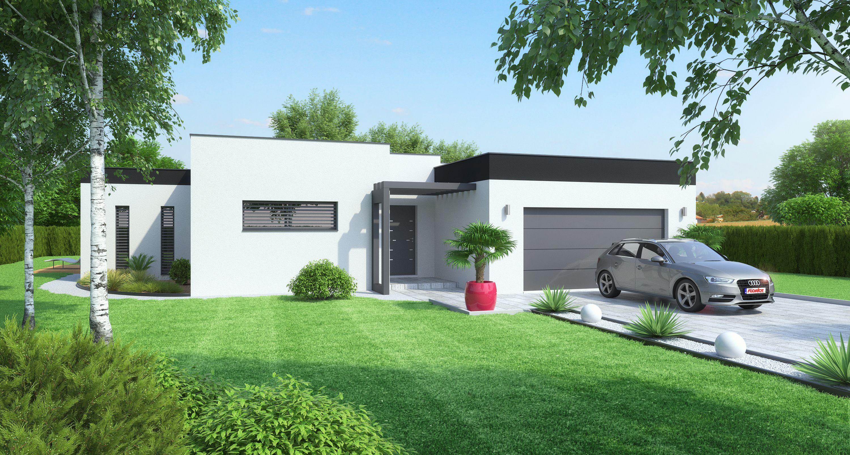 maison id e contemporaine louane maisons floriot. Black Bedroom Furniture Sets. Home Design Ideas