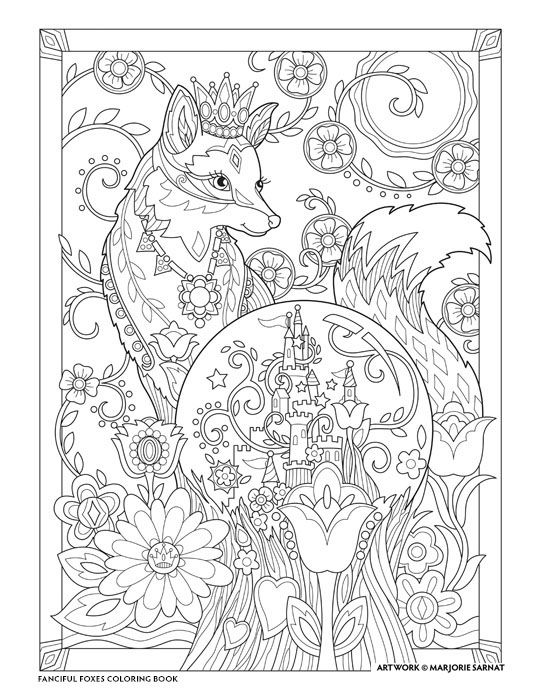I Am The King Cute Coloring Pages Fox Coloring Page Coloring Books