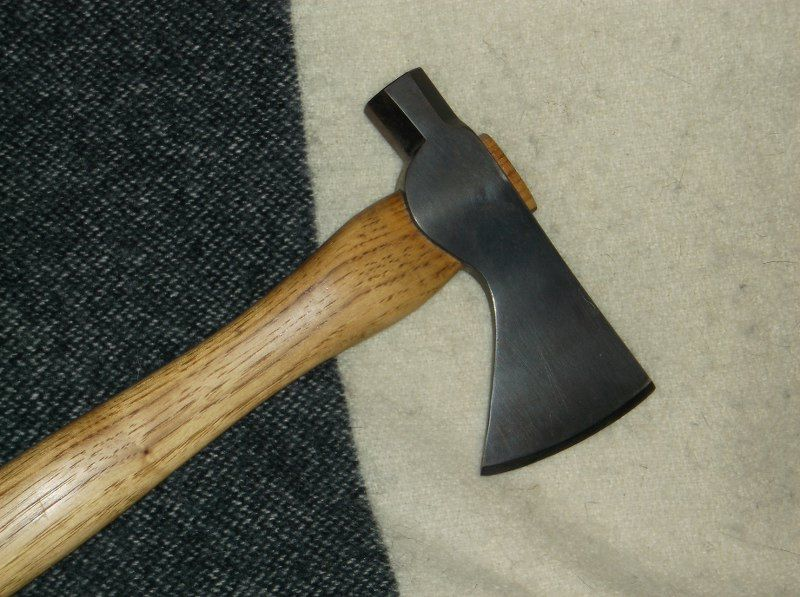Old style modern made hatchet - Traditional Muzzleloading