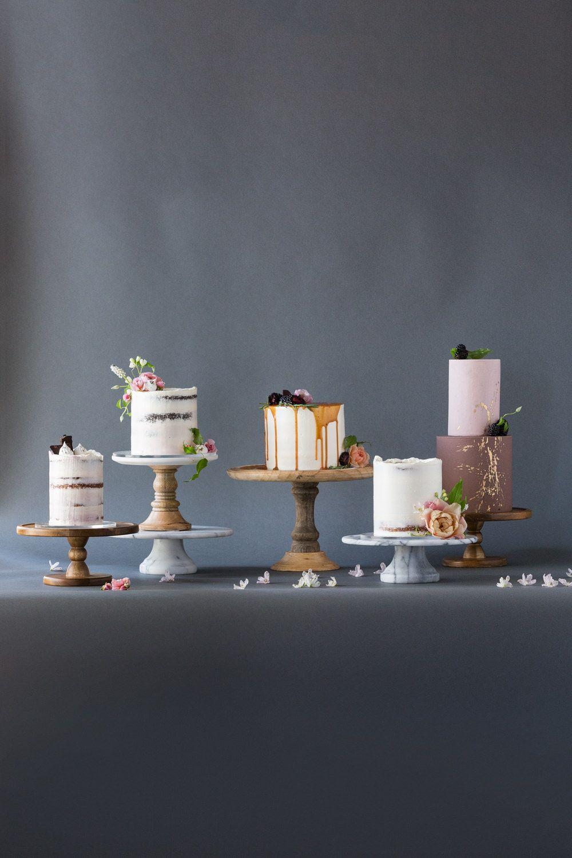 Modern Wedding Desserts from Hey There, Cupcake! Wedding