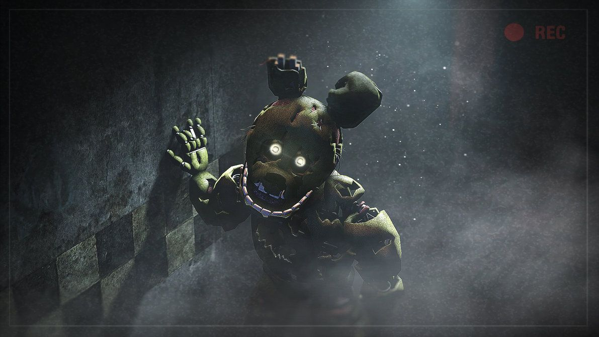 He S Looking Springtrap Wallpaper 1080p By Niksonyt On Deviantart Fnaf Wallpapers Moving Wallpapers Fnaf