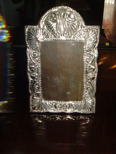 antique sterling silver frame colonial peru easel back picture frame wood ebay - Ebay Picture Frames