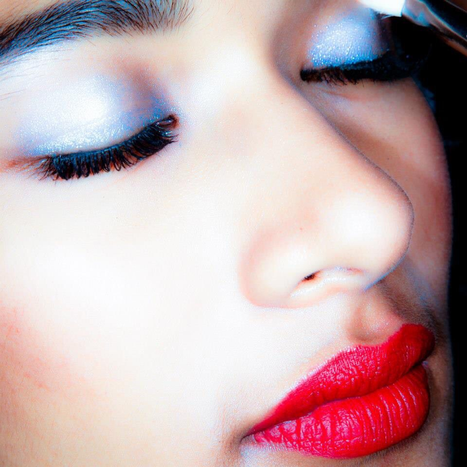 MAC Cosmetics Backstage at Anju Modi Amazon India Fashion Week