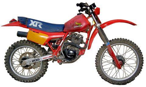 honda xr 250 r 1983 service repair manual honda service manual rh pinterest com manual honda xr250r 2004 Honda XR250R