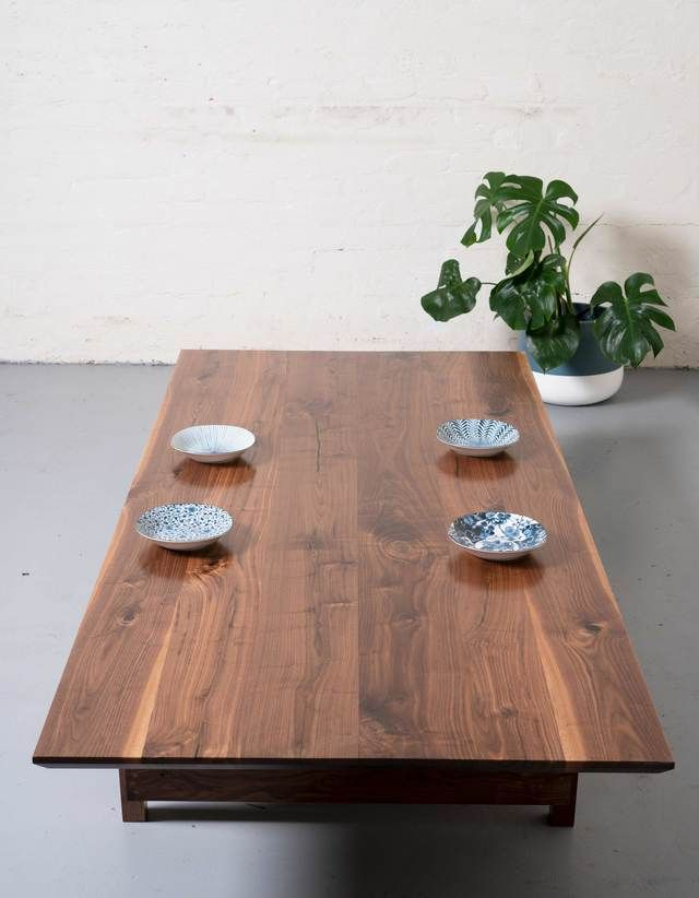 NiBunka Table in 2020   Table, Dining table, Japanese table