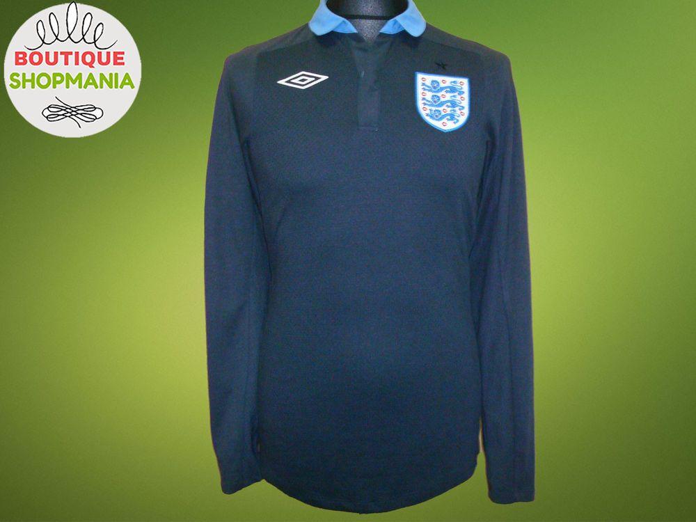 ENGLAND National Away 2011-2013 (S 36) UMBRO Long Sleeve FOOTBALL SHIRT b46d8643b