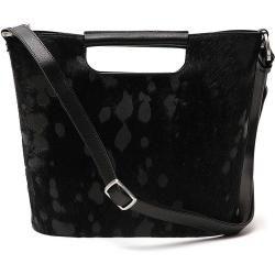 Photo of Gretchen – Crocus Shoulderbag – Black Dotted Pony Gretchen