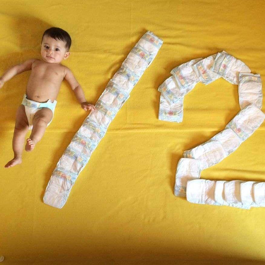 Happy 1 2 Birthday Creative Ideas Baby 6 Month Milestone Pictures