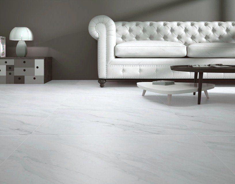 Calacatta Matt White Marble Effect 800x800 Porcelain Floor Tile