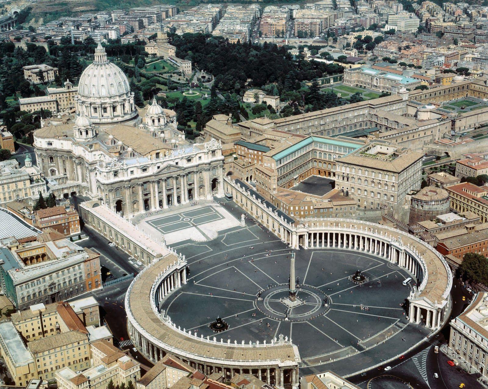 saint peter s basilica and piazza vatican vatican city rome saint peter s basilica and piazza vatican vatican city rome