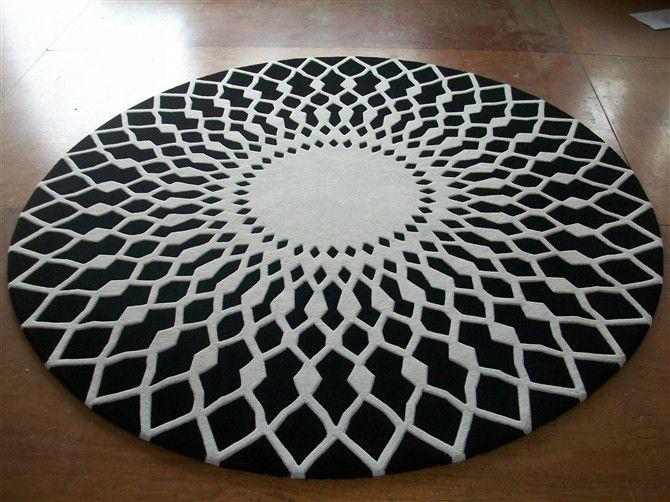 wool large area rugs luxury prayer carpet modern black white