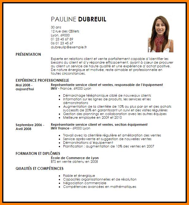 Resultats De Recherche D Images Pour Modele Cv Vente Job Resume Template Curriculum Vitae Curriculum Vitae Template