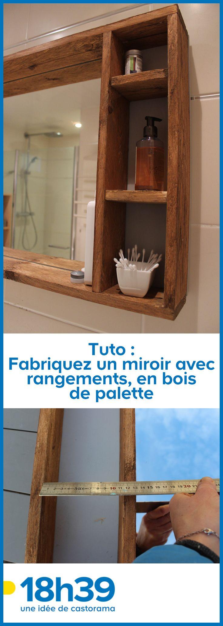 Miroir Salle De Bain En Bois