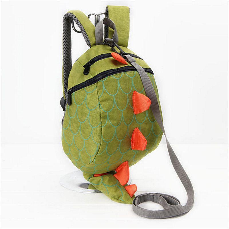 Cute Kids School Bag Kindergarten Girls boys Backpack School Bags Lovely Cartoon  Dinosaur Nylon Baby Book Bag With Kawaii Tail 64f06b7597