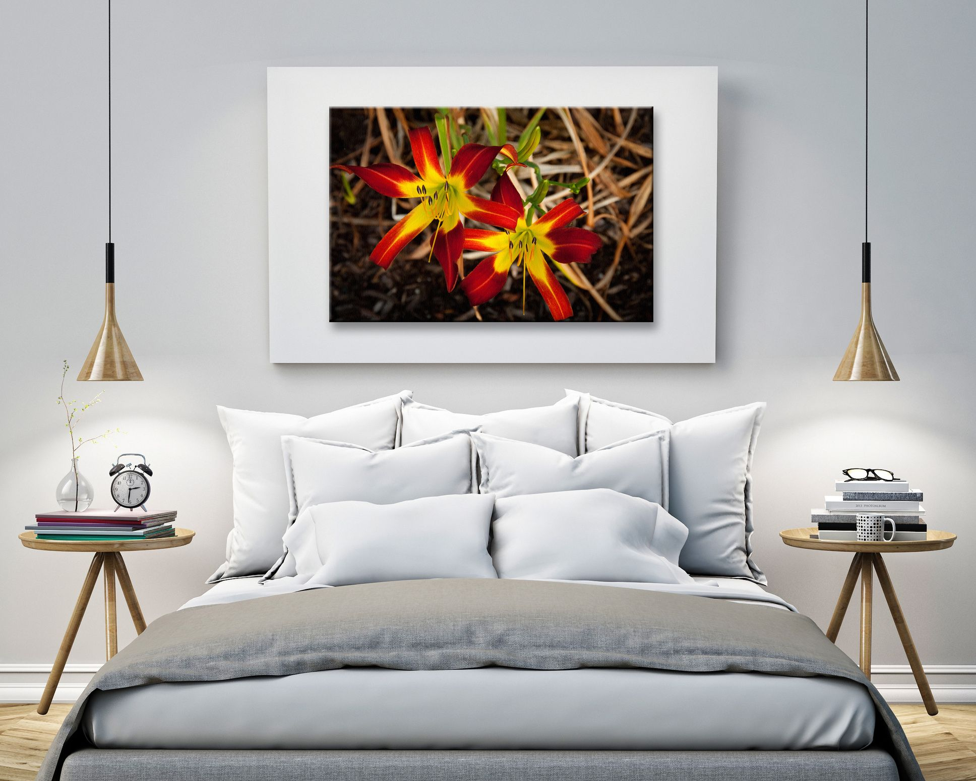 Royal Sunset Lily Nature Photography Canvas Prints Are Now Available On Houzz Nature Photos As Wall Art Look Great In Both Homes An Home Home Decor Room Decor
