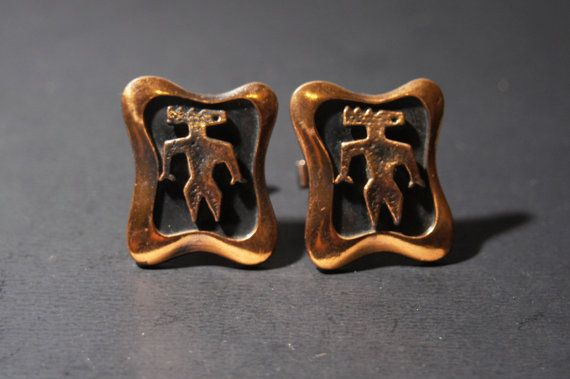 Abstract Modernist Cuff Links