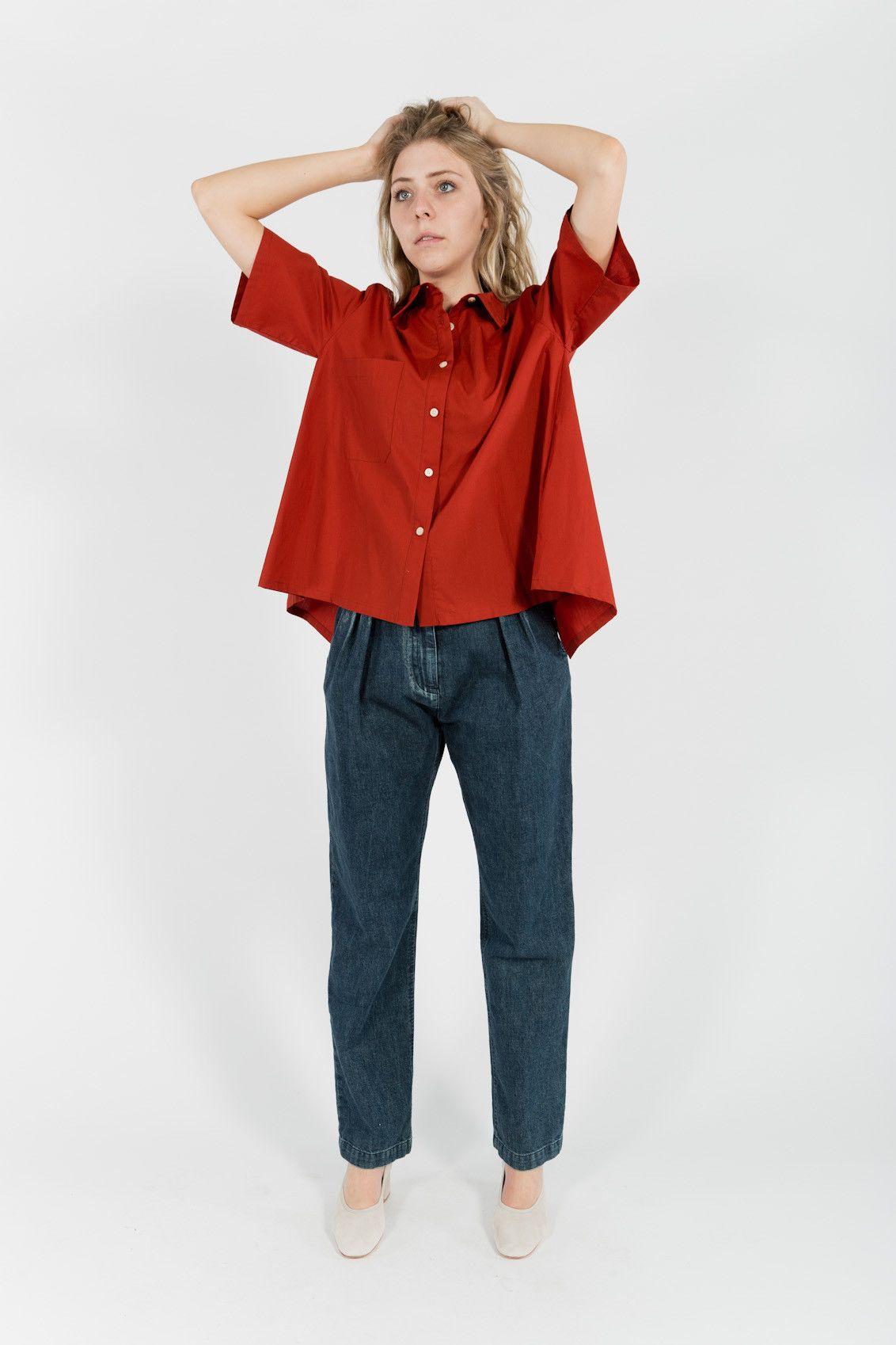 Rachel comey Joust Pants in Blue (Denim) | Lyst