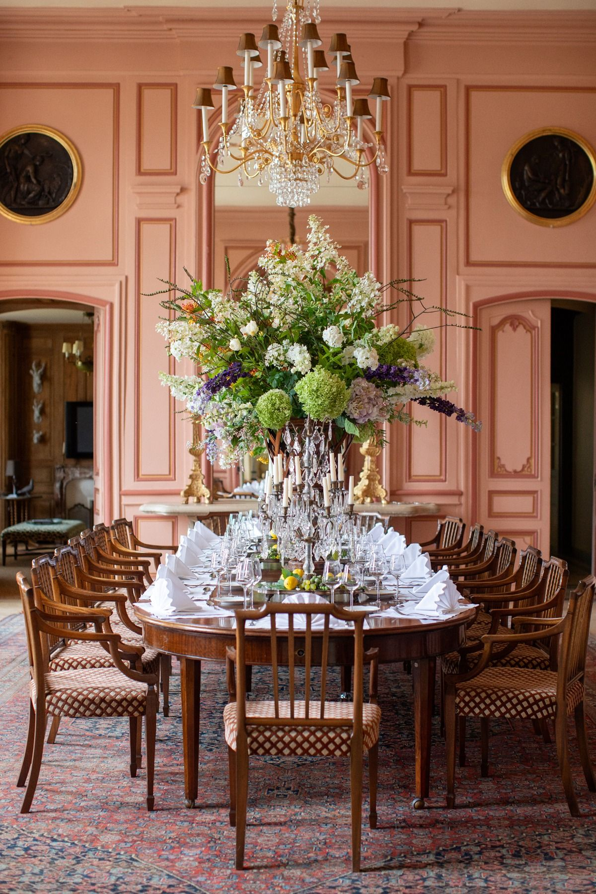 Chateau Du Grand Luce Peony Lim In 2020 French Chateau Interiors Chateaux Interiors Luxury Rooms