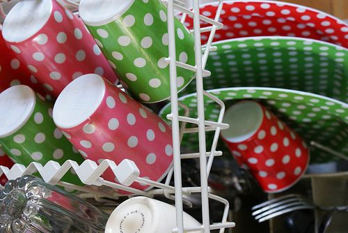 polka dot plates and cups by dutch blue & Google Image Result for http://farm4.static.flickr.com/3511 ...