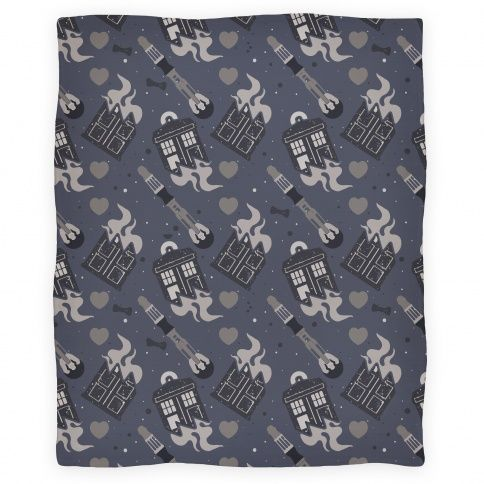 Doctor Who Pattern Blanket   HUMAN