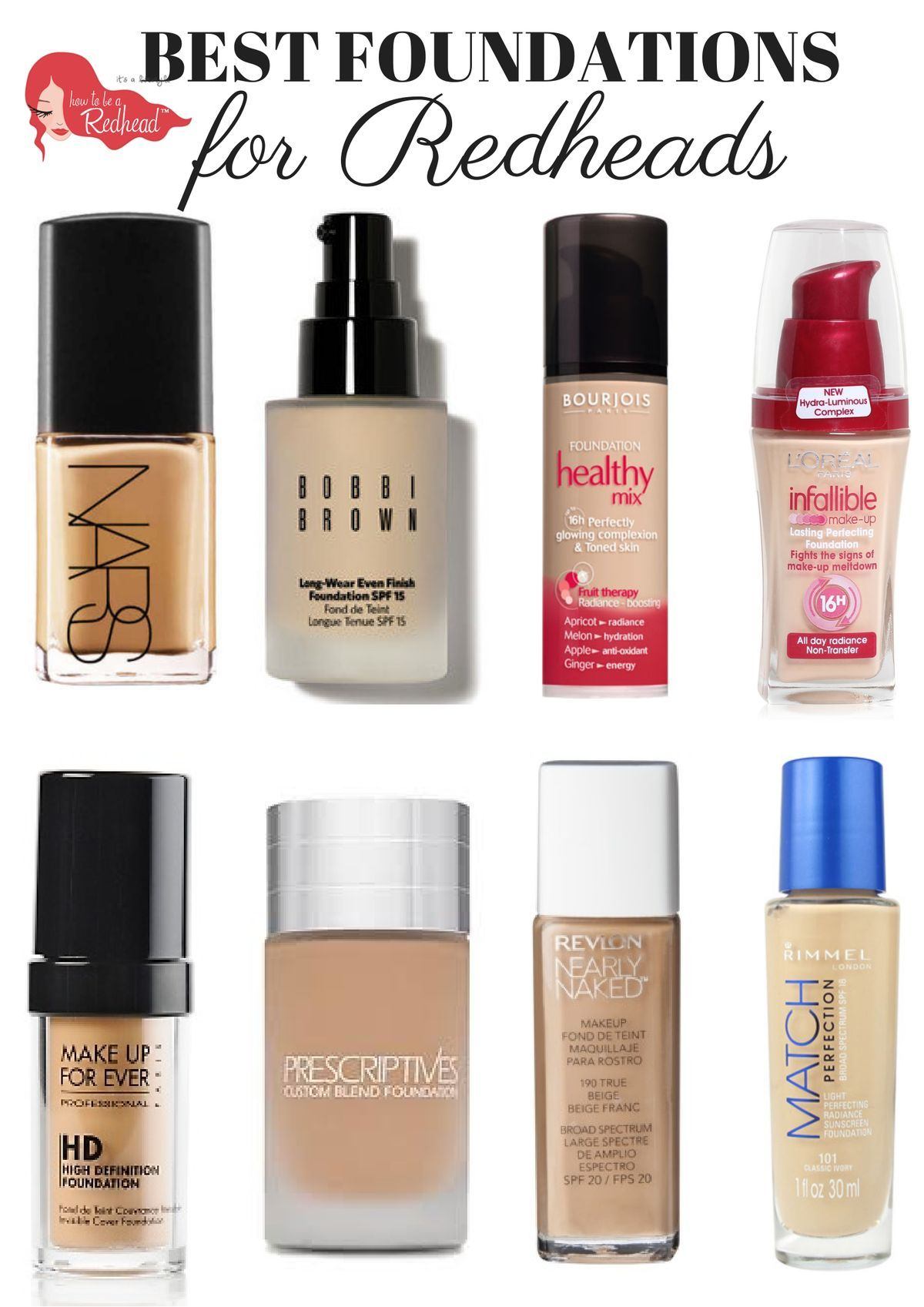 The Top Foundation Picks For Redheads