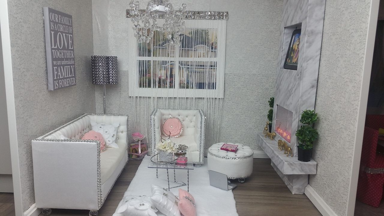 Finally our AG Doll's living Room is completed, we just