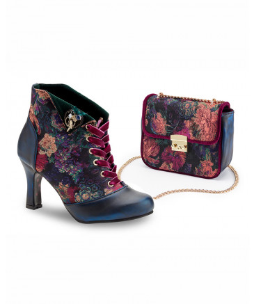 Joe Browns Victory Ankle Boots Vintage Style Footwear Lindy Bop Lace Ankle Boots Boots Funky Shoes