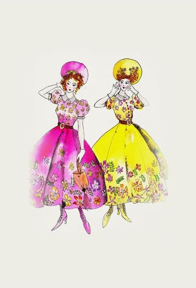 Sandy Powell's costume design for the stepsisters in Disney's live-action CINDERELLA