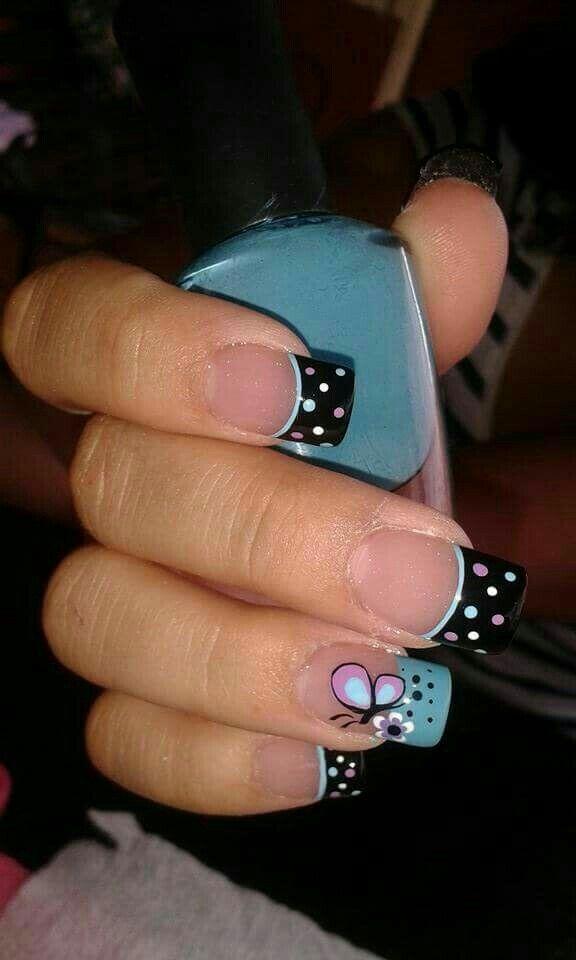 Pin by Tips de Belleza on Uñas Decoradas | Pinterest | Manicure ...