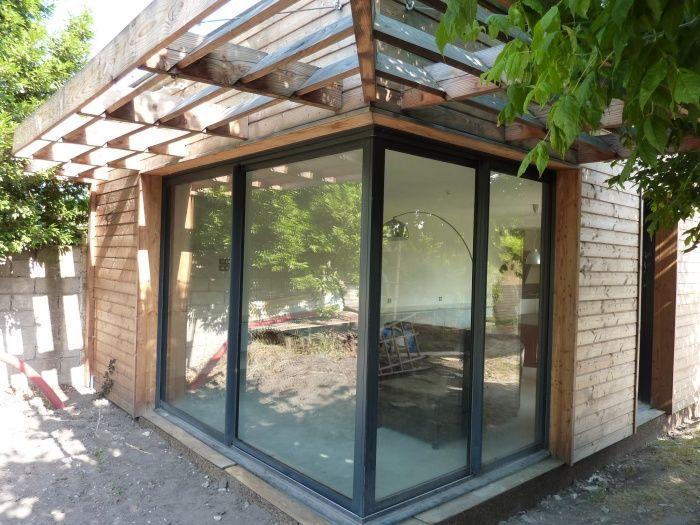 fenetre d 39 angle galandage recherche google salon. Black Bedroom Furniture Sets. Home Design Ideas