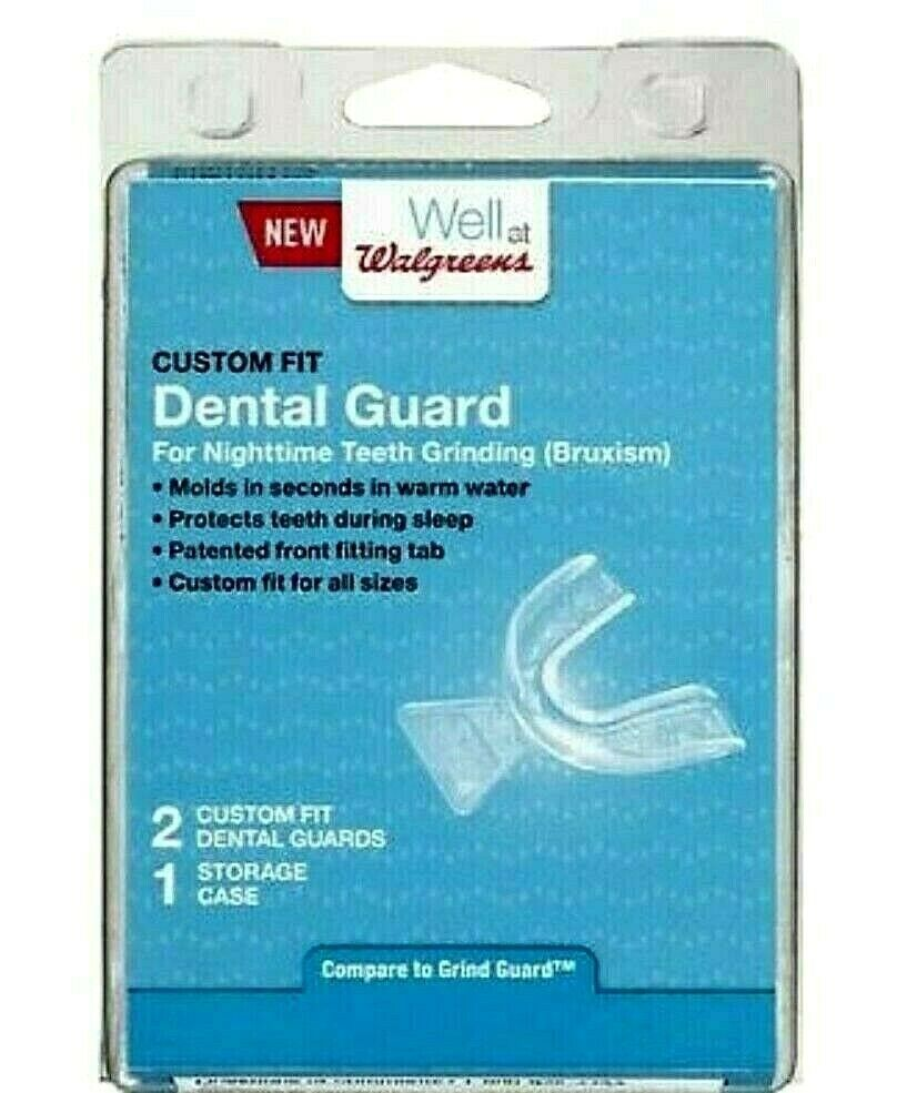 Mouth Guard For Grinding Teeth Walgreens : mouth, guard, grinding, teeth, walgreens, Dental, Guard, Nighttime, Teeth, Grinding, Custom, Front, Fitting, #Walgreens, Teeth,, Guard,