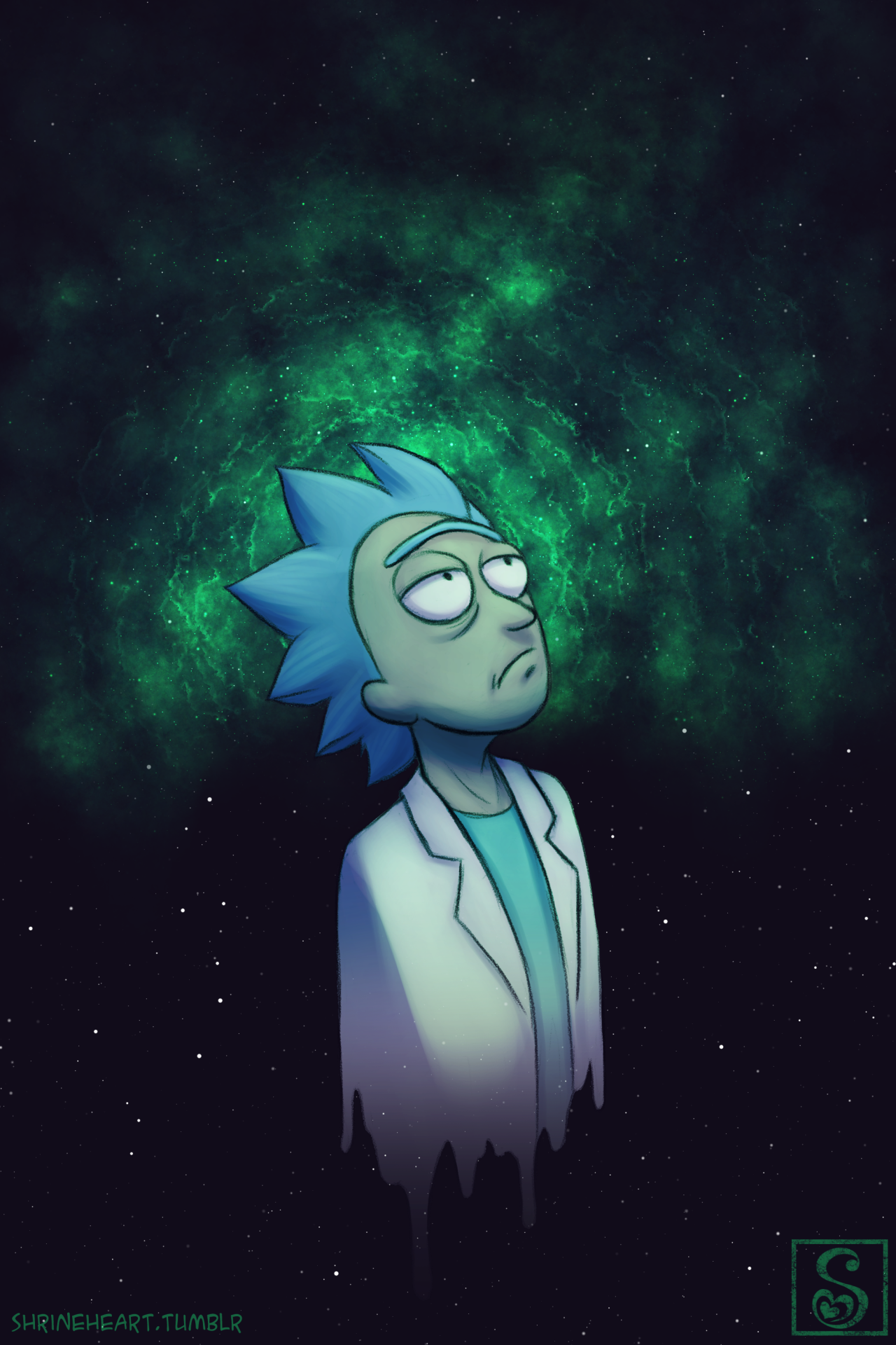 If I Could Start Again A Million Miles Away I Rick Morty Poster
