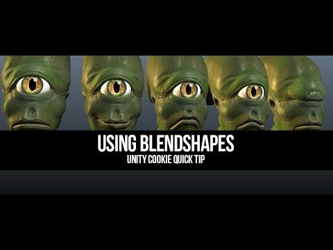 Using Blendshapes in Unity 4 3 - YouTube | 3D | Unity tutorials