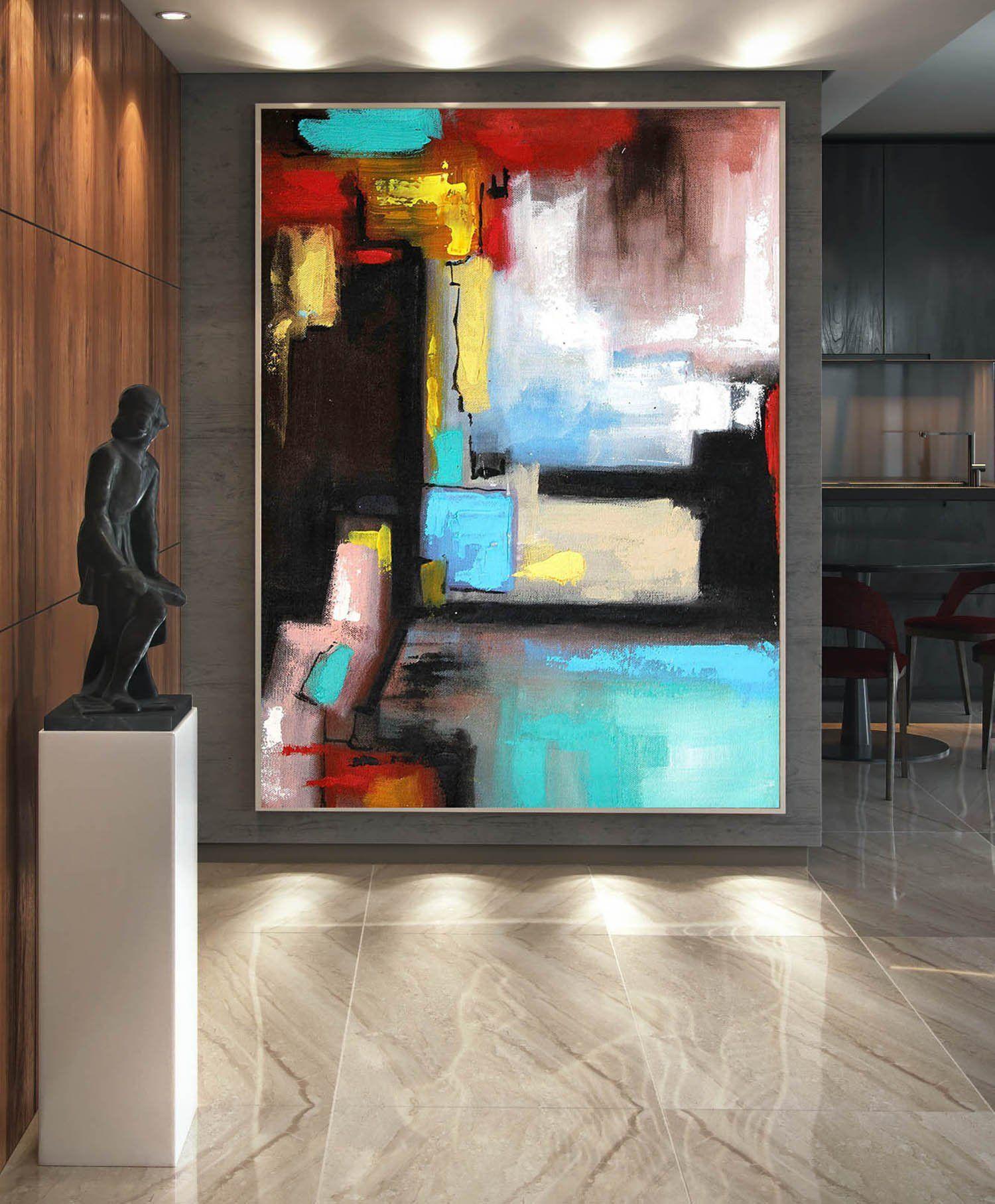 Large Painting On Canvas Abstract Painting Acrylic Painting On Canvas Art Oil Painting Oversize Ca Pinturas De Arte Abstrata Parede De Entrada Arte Em Pintura
