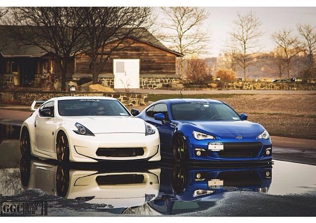 Subaru Of Claremont >> Hella Clean Hella Flush 370 & BRZ #NissanNation # ...