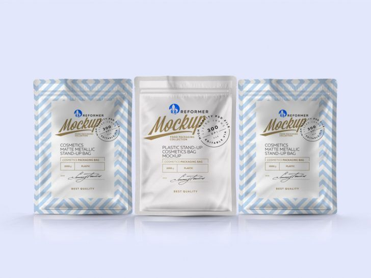 Download Free Small Pouch Packet Mockup Free Package Mockups Pouch Packaging Bag Mockup Packaging Mockup