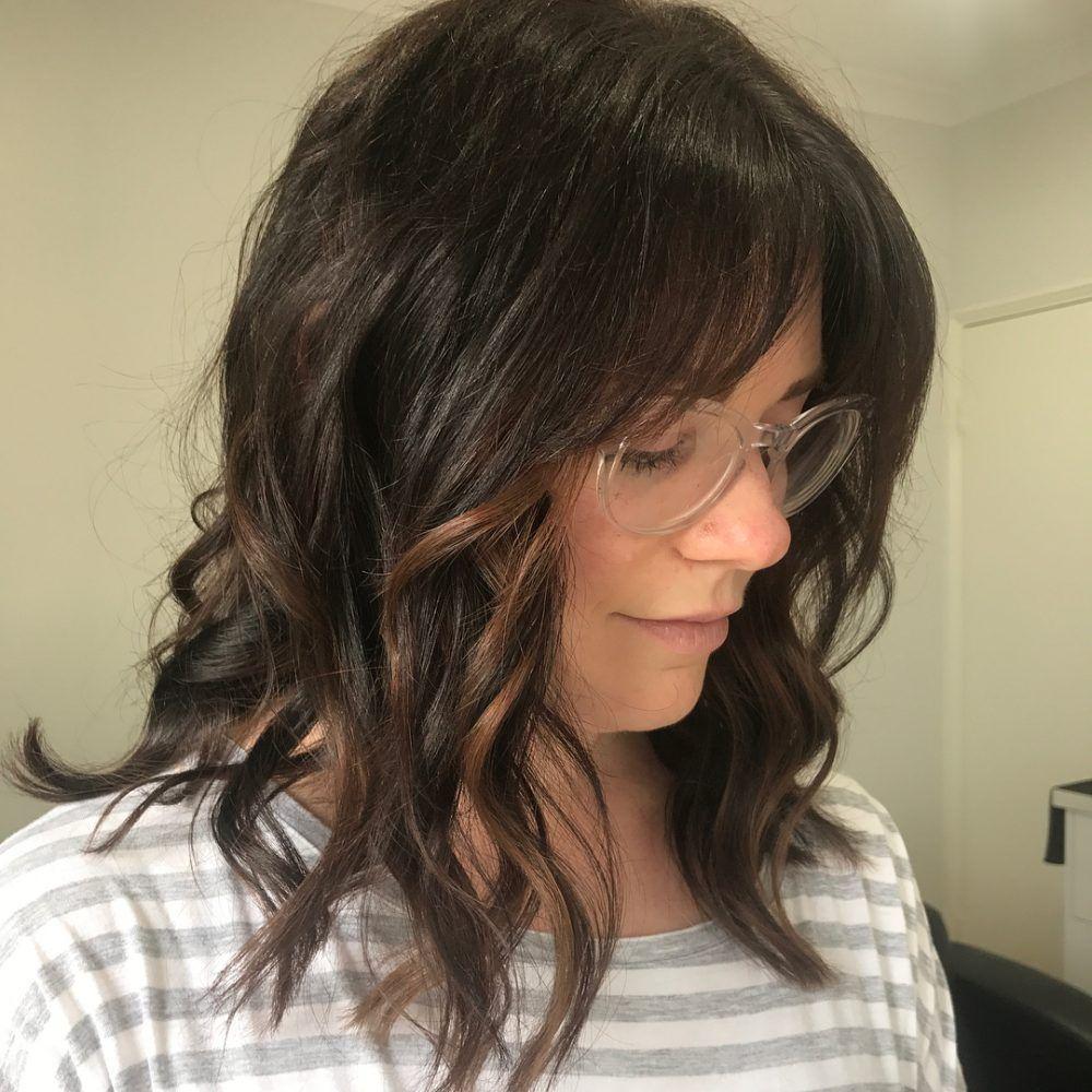53 Popular Medium Length Hairstyles With Bangs in 2020 | Medium length hair  styles, Bangs with medium hair, Medium hair styles