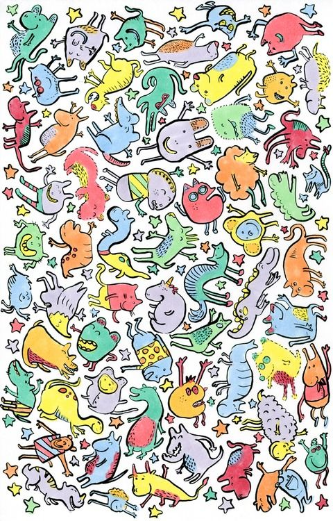 this needs to be framed in a kid's room like Woah  | doodles and