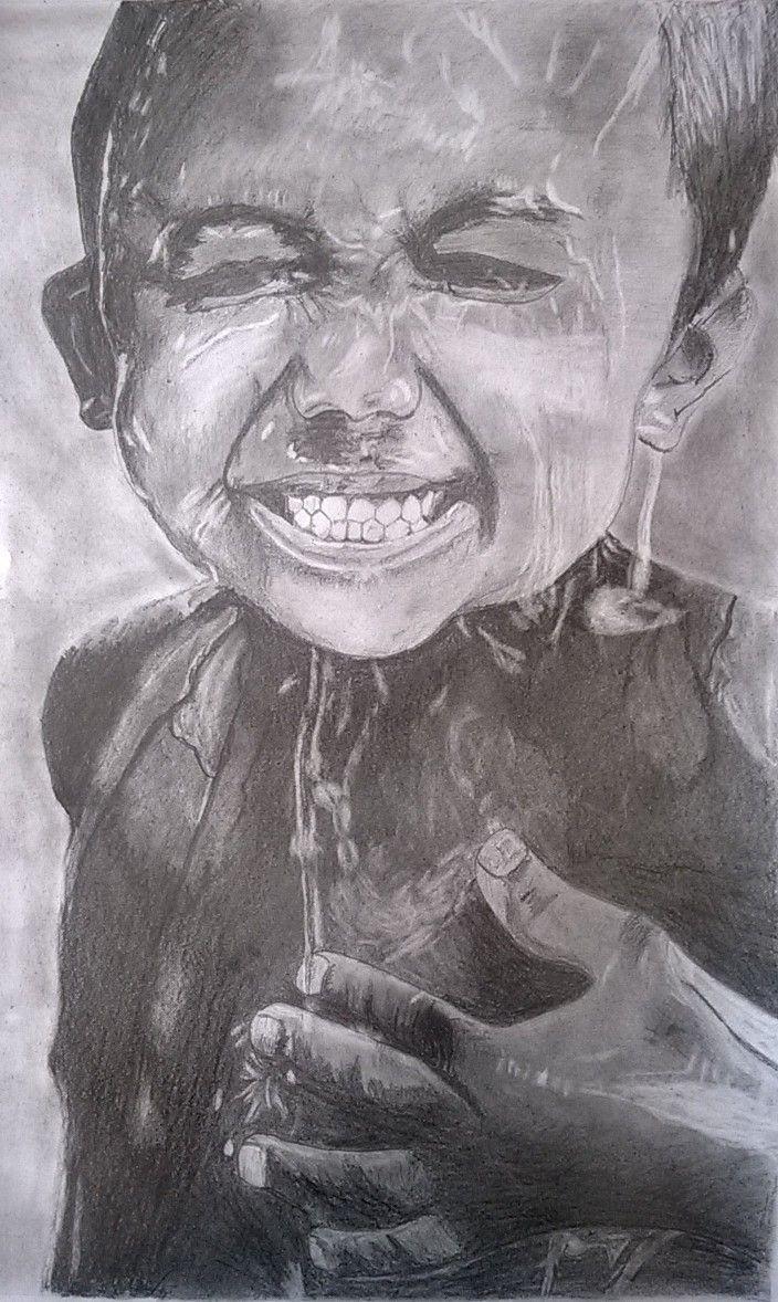 Realistic pencil art