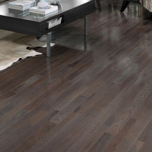 """Found it at Wayfair - Homestyle 2-1/4"""" Solid White Oak Hardwood Flooring in Charcoal"""