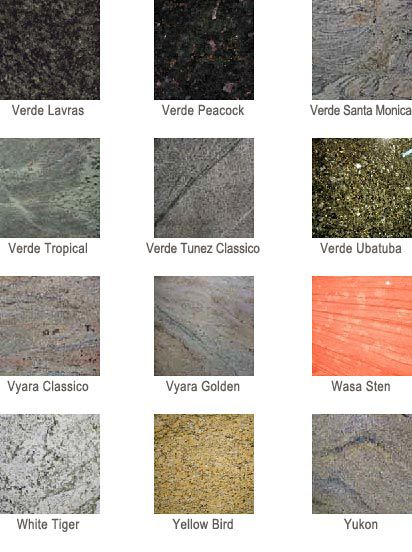 All Az Countertops Offers A Wide Variety Of Color Selection For Your New Granite Counter Tops In The Phoenix Area