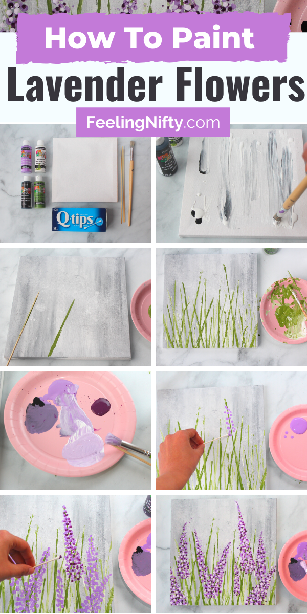 Photo of Want to learn how to paint lavender- the easy way? | How to Paint Series
