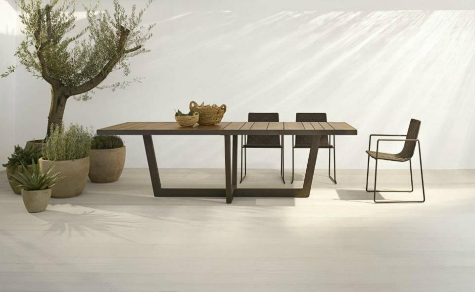 Piergiorgio Cazzaniga For Andreu World Aire Outdoor: Comfortable, Subtle  And Extremely Durable