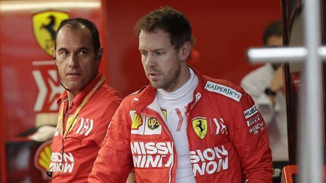 Sebastian Vettel (@sebastian5vettel_) • Fotos y vídeos de Instagram in 2020 | Sebastian, Ferrari ...
