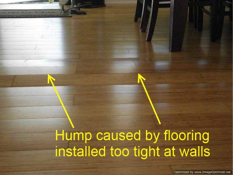 Here Is An Example Of A Bad Laminate Installation I Had To Repair Laminate Installation Laminate Flooring Fix Installing Laminate Flooring