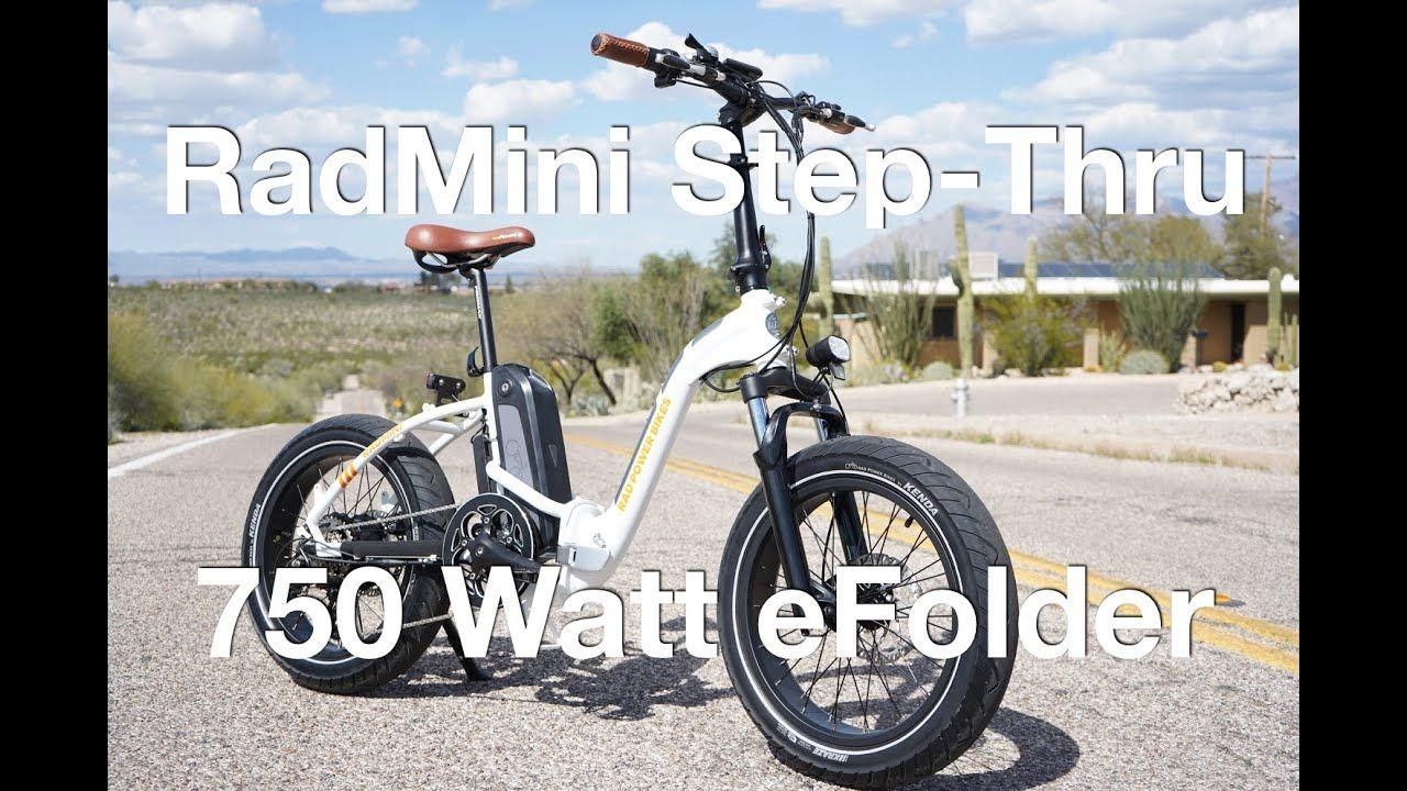 Rad Power Bikes Radmini Step Thru Electric Bike Review Electric