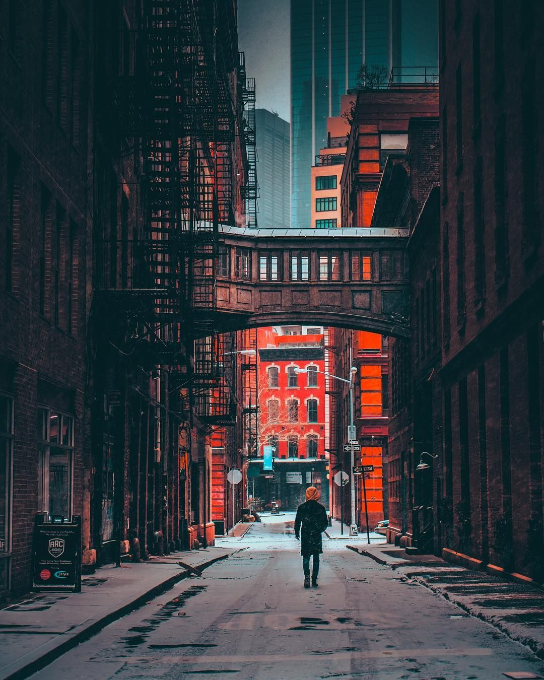 Stunning Moody Street Photos Of New York City By Mazz