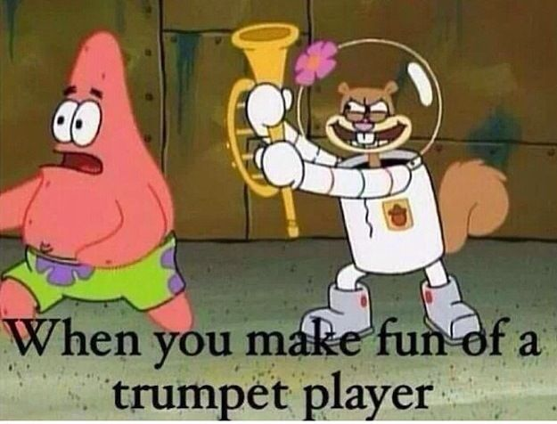 Band memes marching band funny music spongebob squarepants