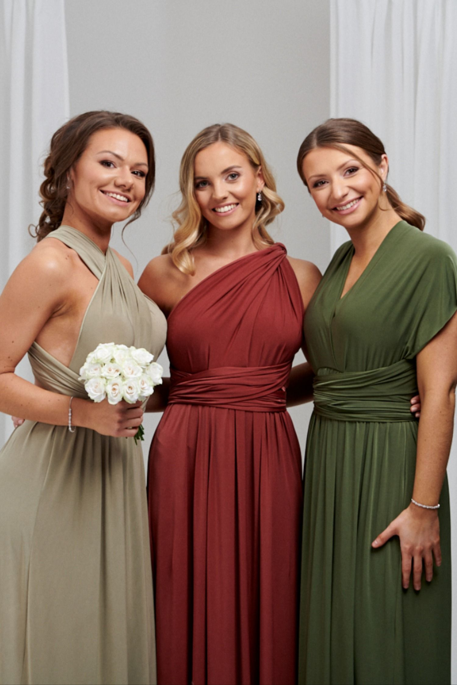 Beautiful Sage Green, Terracotta and Olive Green Bridesmaid Dresses by Lace & Favour -   18 sage green bridesmaid dresses fall ideas